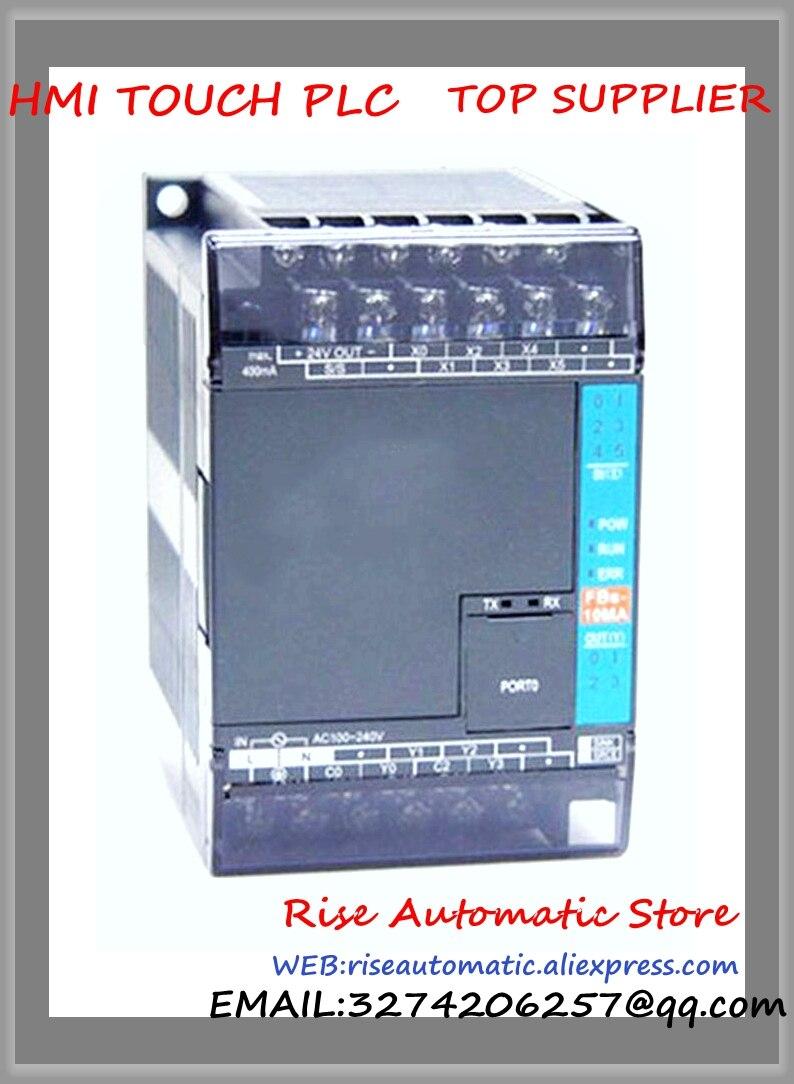 FBs-14MAT2-AC New Original PLC AC220V 8 DI 6 DO transistor Main Unit brand new original plc digital input 36 transistor output 24 system main unit 1 com fbs 60mct2 ac 24vdc