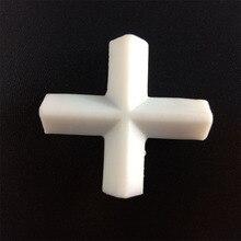 E8x20mm PTFE магнитная мешалка миксер бар PTFE Крестовая форма мешалки белый тефлон магнитные палочки, 3 шт