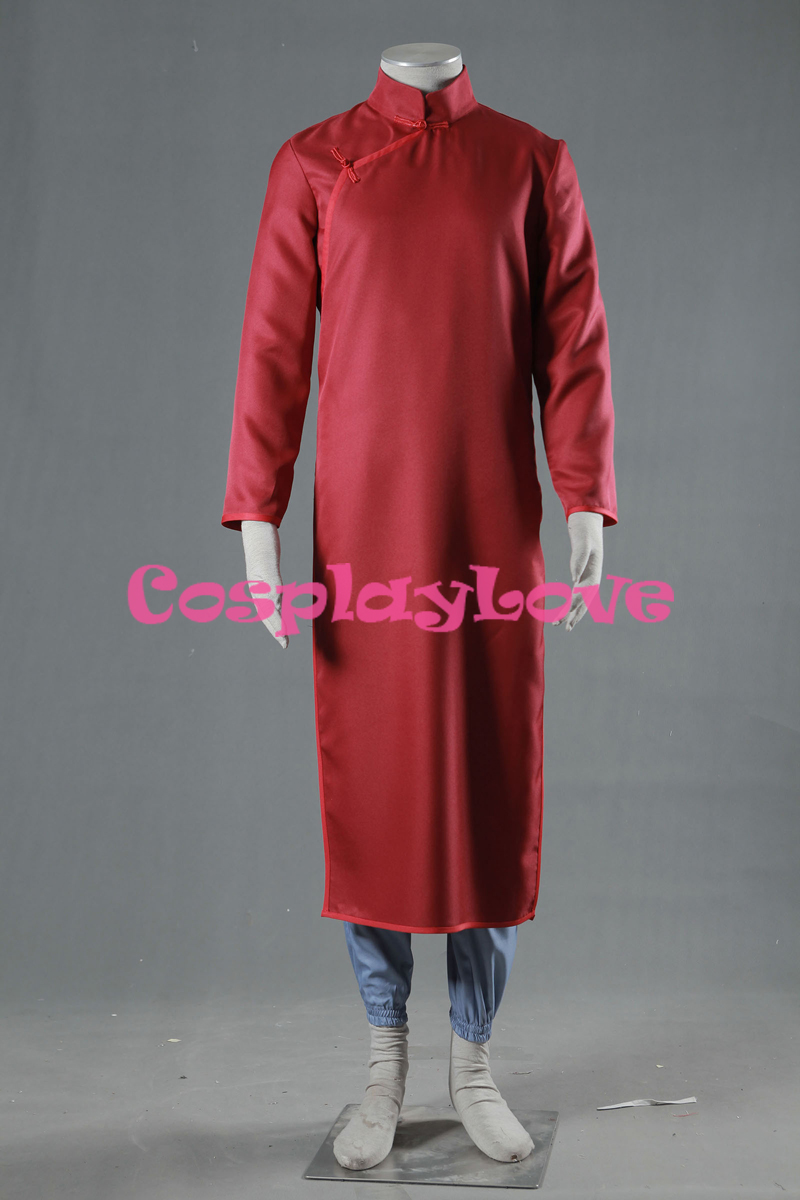 Chinese Style Cheongsam The Last Naruto Sabaku no Gaara 8 Generation Cosplay Costume Custom Made Stock High Quality