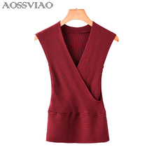 Sexy Sweater Women 2019 New V Neck Body Shirt Woman Knitted Sweaters For Pullovers Knitwear korean Jumper Pull Femme