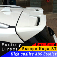 For Ford Escape Kuga 2013 to 2017 ST rear spoiler High quality ABS material primer DIY any color