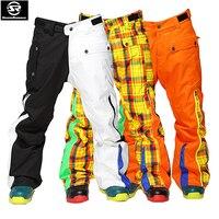 Гарантируем подлинность! Лыжные брюки мужские ветрозащитные непромокаемые зимние утепленные Стеганые Брюки Большие размеры уличные дышащ