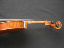 1 PC Hand Made Quality Violin 4/4 Spruce Top Maple Back Great Tone 1202#