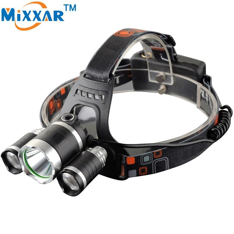 ZK30 Hot sale 9000LM LED Headlamp headlight 4 Mode Energy Saving Outdoor Sports Camping Fishing Head
