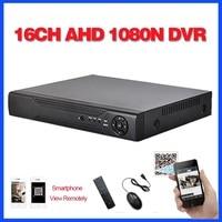 Home Surveillance 16ch DVR HD AHD 1080N 720P Security CCTV DVR Recorder HDMI 1080P 16 Channel