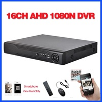 Home surveillance 16ch DVR HD AHD 1080N 720P security CCTV DVR recorder HDMI 1080P 16 channel standalone WIFI AHD DVR NVR