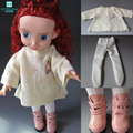 Doll accessories Loose sweater, pantyhose, shoes for 40cm salon doll, tlida dolls, handmade dolls