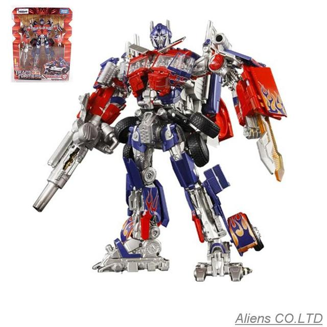Buster Optimus Prime Transformation Action Figure ROTF Toy Robot included sound and light