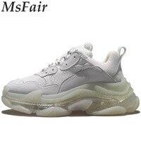 MSFAIR кроссовки для Для женщин Открытый Спортивное Прогулки кроссовки женские брендовые Обувь с дышащей сеткой Run из натуральной кожи Для жен