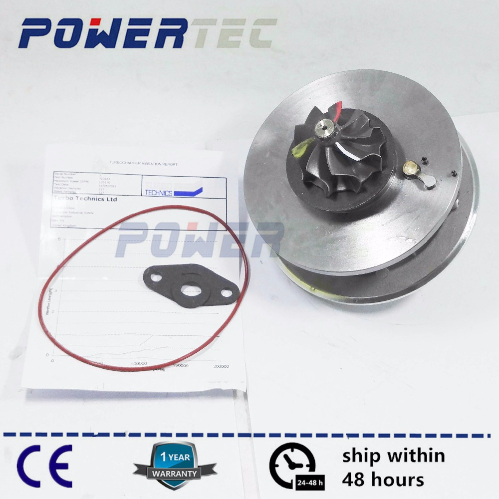 Turbo charger CHRA cartridge GT2052V turbine core For Volvo Penta Schiff 2.4 D D5244T 120Kw 2004- 723167 723167-5007S 3847392 studies on schiff bases derived from acetophenones