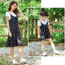 Matching Family Outfits Big sister little sister Clothes Mom and Daughter Dress Mother daughter Dresses Floral цены онлайн