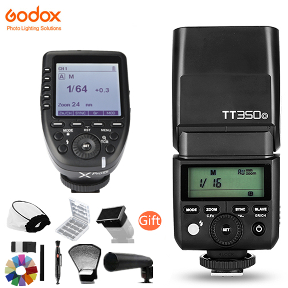 Здесь можно купить  Godox Mini Speedlite TTL TT350O High Speed 1/8000s GN36+2.4G wireless Power Flash Trigger X1T-O Xpro-O For Olympus Panasonic  Бытовая электроника