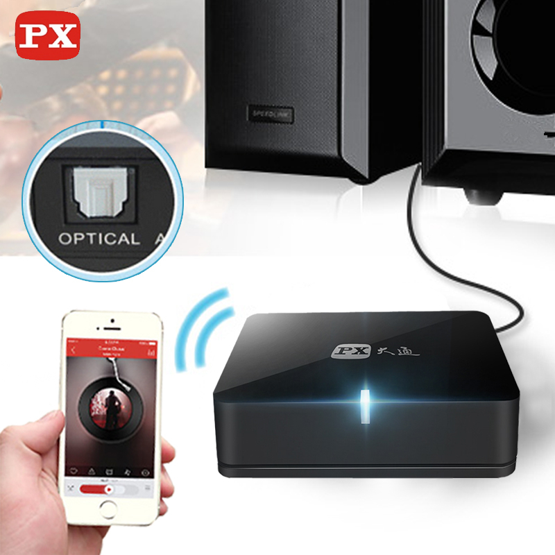 PX Bluetooth Receiver Aptx Audio Spdif 5.1 sound System Wireless Music Mini Hifi Adapter 3.5mm to speaker Aux Rca Jack 4.0