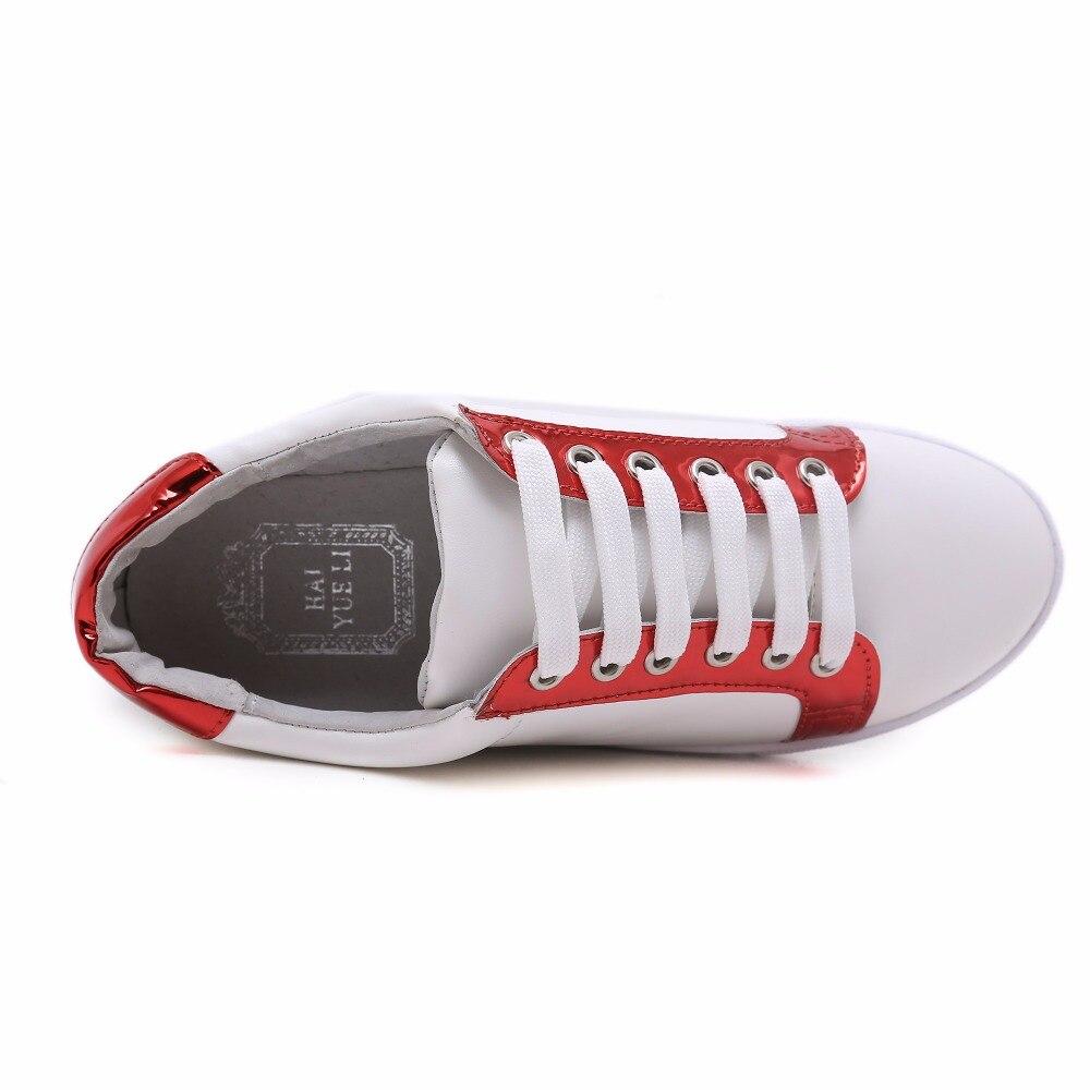 up La Femmes De Dentelle Or Chaussures rouge Mode Confortable Appartements Nouvelle Casual qqnxwtTrag