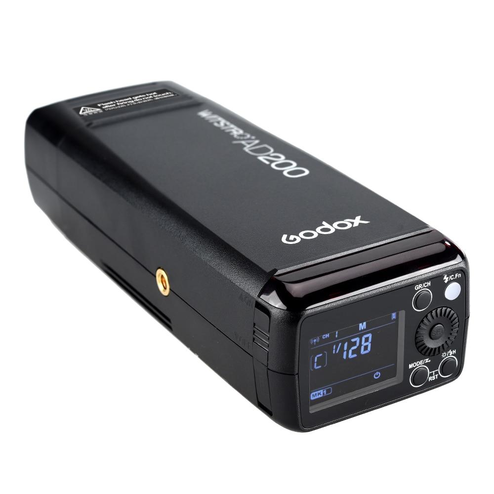 Godox AD200 Pocket Flash 200W 2.4G Sistema X inalámbrico TTL HSS Luz - Cámara y foto - foto 5