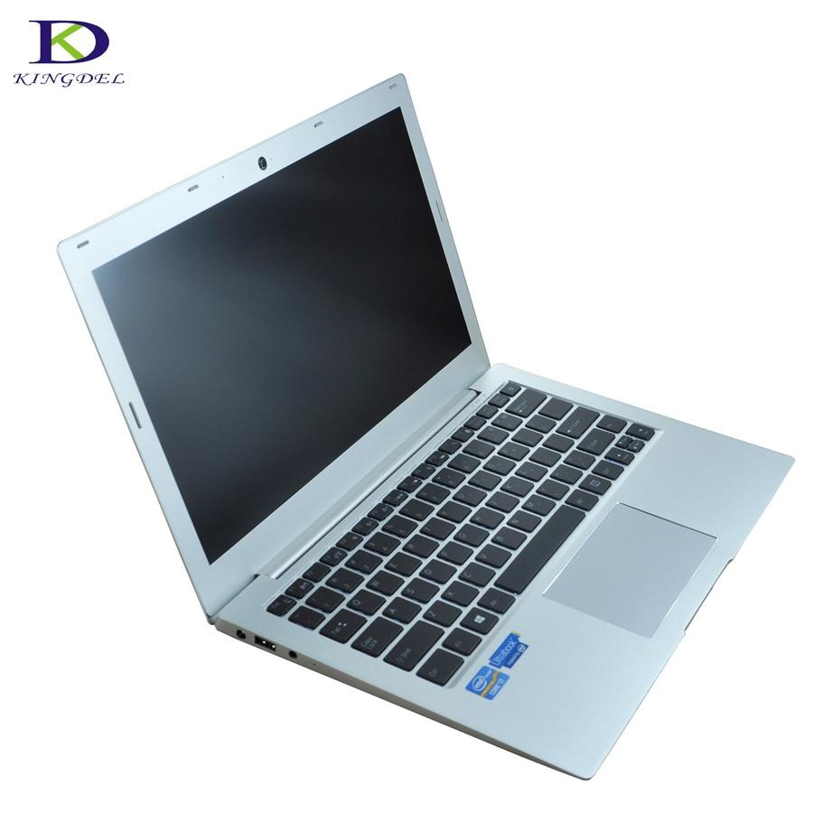 I7 UltraSlim Laptop 7th Gen I7 7500U CPU 2.7GHz Up To 3.50GHz 4M Cache Backlit Keyboard Netbook 8G RAM 256G/512G SSD Type-C HDMI