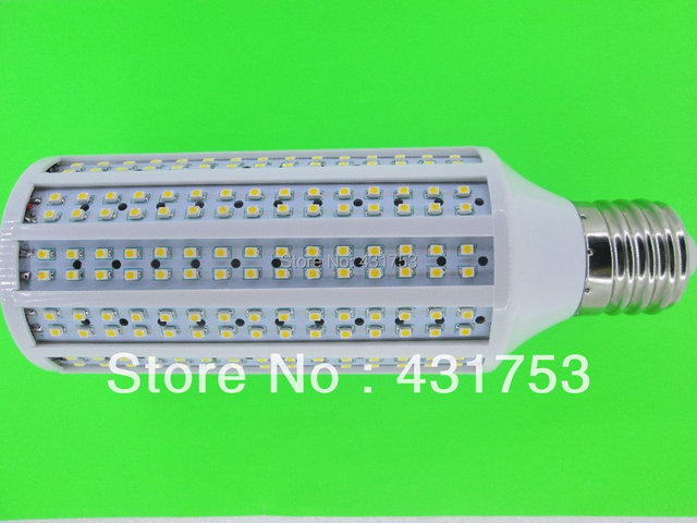 2014 Sale Freeshipping 220v Smd3528 3pcs New E40 Led Bulb Lamp 35w 200v-240v/ac / Warm Cold Free Delivery Warranty for 2 Years