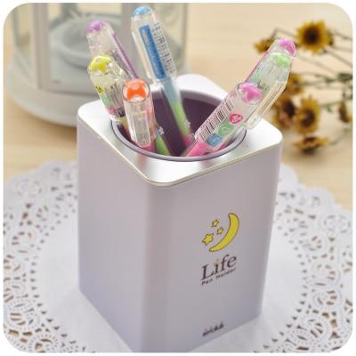 Aliexpresscom Buy Korean Creative Cute Pen Holder Kawaii Desk