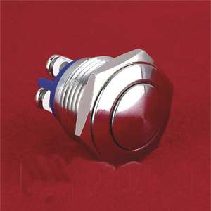 Push-Button Metal-Switch 16mm Good-Sales Anti-Vandal 100%Quality-Products