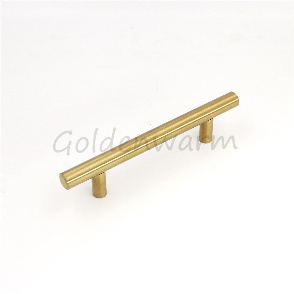 Goldenwarm 15 Paket Goldenen Schrank Griff T Bar Türgriff Schublade ...