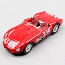 1/43 Scale LEO mini classic 200S SI Tipo Giro Di Sicilia 1957 No.335 Scarlatti Rally diecast model cars kids toys for collection