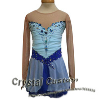 Hot Sales Custom Ice Skating Dress For Girls Beautiful New Brand Vogue Figure Skating Dresses For Competition DR2803