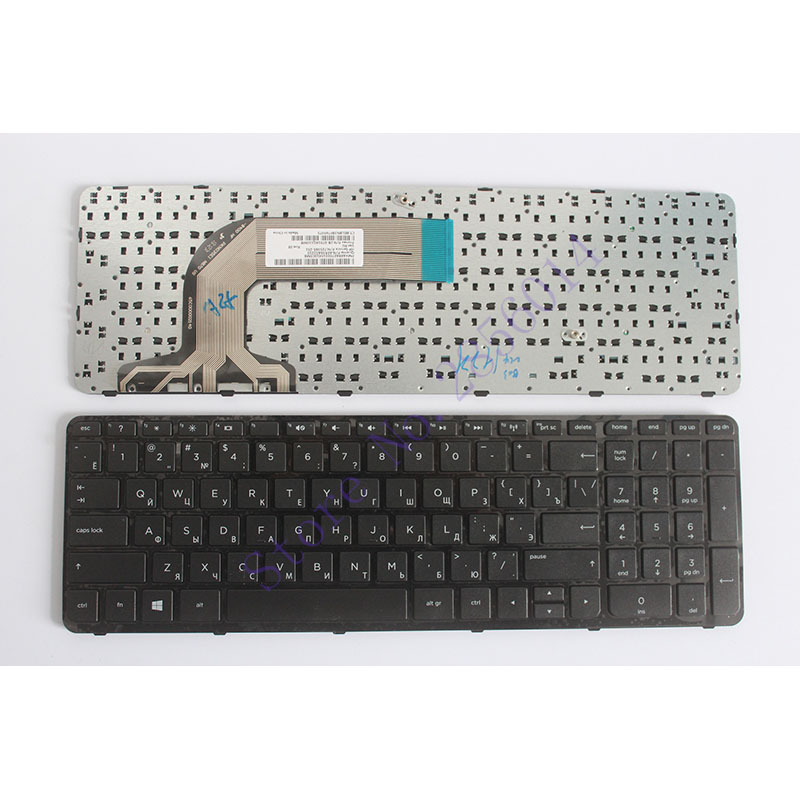 Russian laptop Keyboard for HP Pavilion 17 17E 17N 17-N 17-E R68 AER68U00210 710407-001 720670-251 725365-251 RU with frame certina c032 251 17 011 00