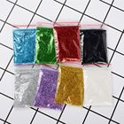 2pcs Starry Nail Power Holographic Laser Nail Glitters Dust Manicure Nail Art Glitter Decorations