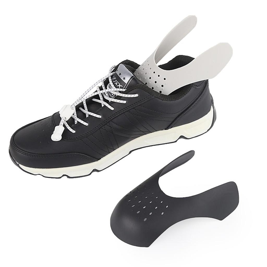 3 Pairs Men/'s Black Sneaker Shields Protector Toe Box Decreaser Anti Crease