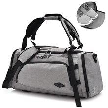 Купить с кэшбэком Hop Top Canvas Men Multifunction Travel Bag Luggage Men Travel Bags Large Capacity Shopping Backpack Canvas Casual Duffle Bag