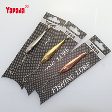 yapada ice fishing metal vib 10g 64.5mm spoon bait fishing bass carp tackles leurre peche lure equipment wholesale free shipping