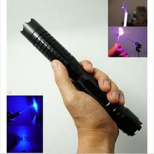 Самый мощный 1000000 м 450нм синий лазерный фонарик спичка свеча горит сигарета нечестивый лазер факел Охота