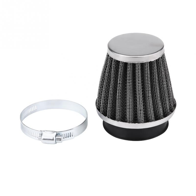 42mm//1.7in Air Filter Air Cleaner For Moped Scooter ATV Pit Dirt Motorcycle