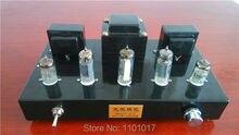 LF 6N2 6P1 Magic eye Tube Amplifier HIFI EXQUIS Handmade Finished lamp amp (LF Dragon & Phenix ) Black version