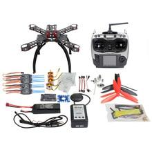 DIY RC Fiberglass Frame Multicopter Full Kit DIY GPS Drone FPV Radiolink AT9 Transmitter APM2 8