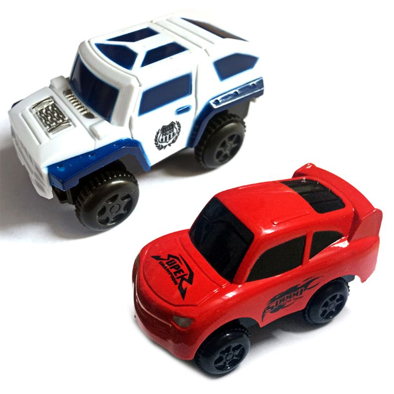 <font><b>Electronic</b></font> Rail Track <font><b>Car</b></font> Battery Power Educational <font><b>Toy</b></font> Gift for Children Kids Gift image