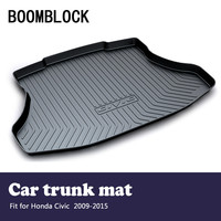 BOOMBLOCK автомобильные аксессуары охватывает коврик багажника Коврики для багажника для Honda Civic 2015 2014 2013 2009