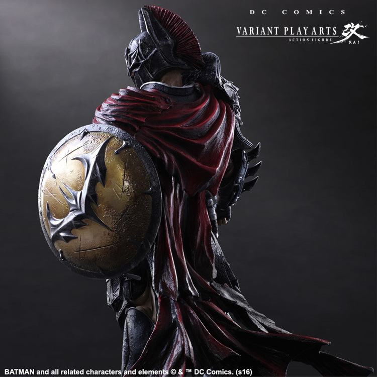 Play Arts Kai Batman 1/6 scale painted figure Variant variable Ver. Timeless Spartan PVC Action Figures Collectible Model Toys-2