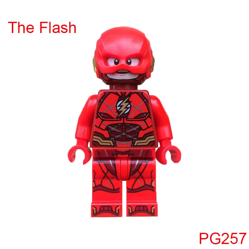 Single Sale The Flash Dc Mini Dolls Super Heroes Action Bricks Building Blocks Best Collection Toys For Children hot sale 12cm foreign chavo genuine peluche plush toys character mini humanoid dolls