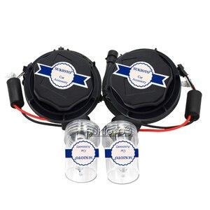 Image 2 - SUKIOTO Car Headlight 9012 HIR2 Xenon CANBUS Kit 55W H1R2 9012 6000K hi/lo bixenon Projector bulbs NO Error Edge HID Headlamp