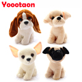 Simulation dog plush toy 16cm Husky /Shepherd dog/ Belldog / Chihuahua / Schnauzer / Labrador Soft Stuffed dolls Kids toys