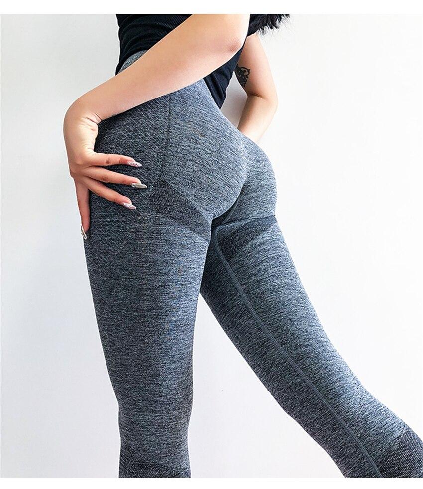 Da Aptidão Mid-Cintura Tummy Controle Butt Lift