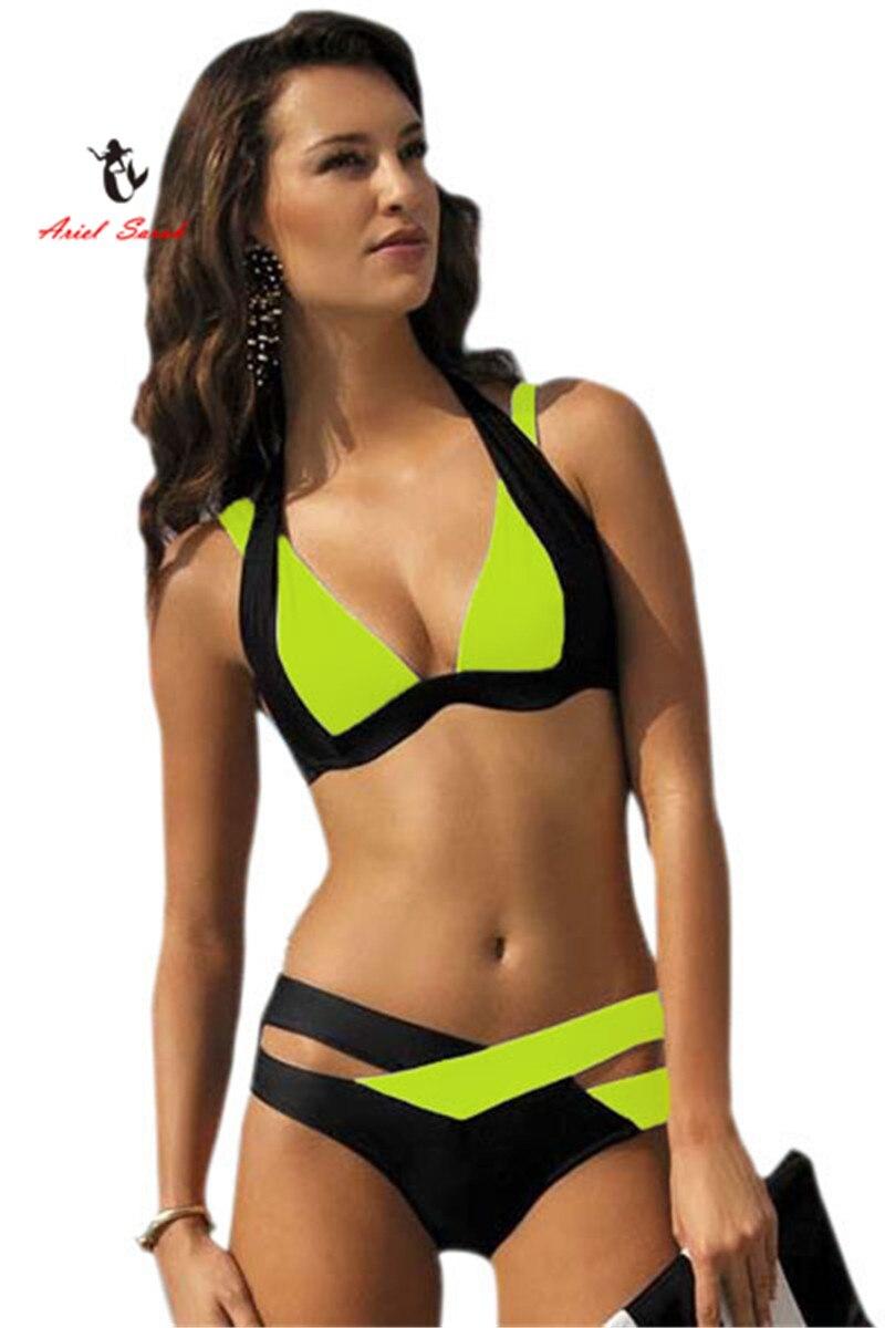 Brazilian Bikini 2018 New Sexy Women Swimwear Swim Suit Plus Size Bikinis Set Maillot De Bain Push Up Bra Swimsuit BJ189 3