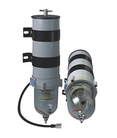 Fuel Water Separator 1000FG/FH with filter element 2020PM and heater baldwin bf7949 dm secondary fuel element with removable drain