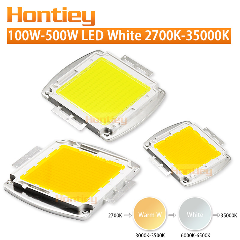 150W 200W 300W 500W Watt High power LED chip Warm White Cool White Natural White Integration Spotlight Floodlight Outdoor light high quality customized 150 ohm 500w watt power aluminum metal shell case gold resistor
