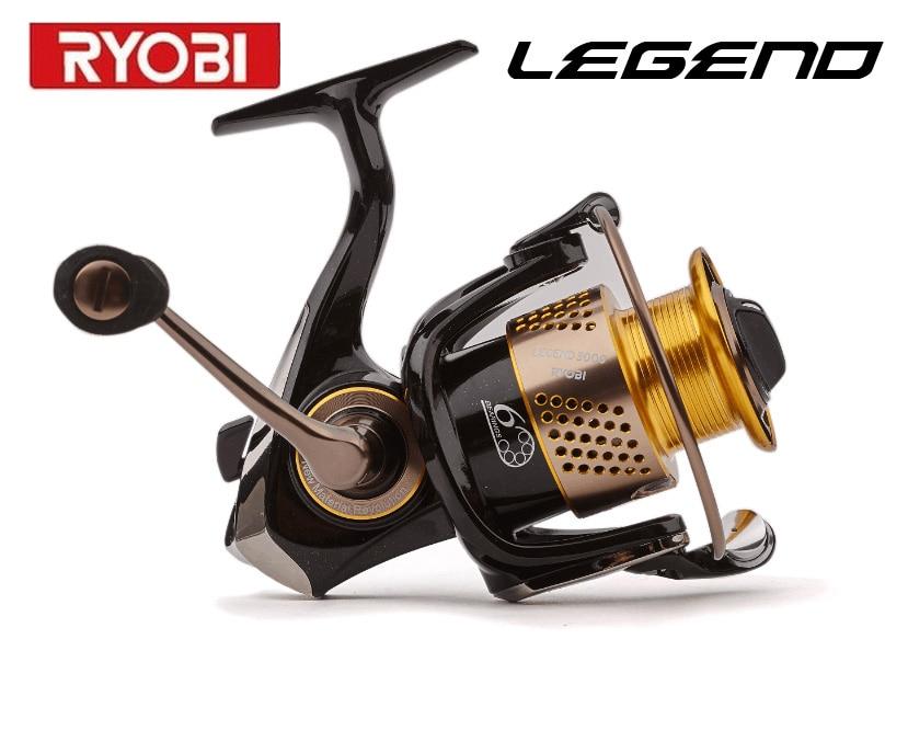 Ryobi fishing line reel legend1000 6000 spinning reel for Ryobi fishing reel