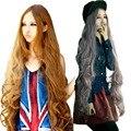 Peruca Lolita Anime peruca Cosplay perucas de cabelo sintético produtos 100 cm longo encaracolado HB88