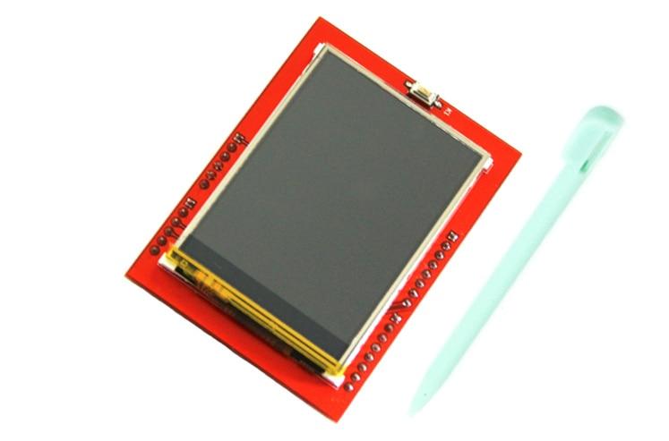 2pcs 2.4 inch TFT LCD Touch Screen Shield for Arduino UNO R3 Mega2560 LCD Module Display Board 2.4 inch TFT LCD Shield ILI9341