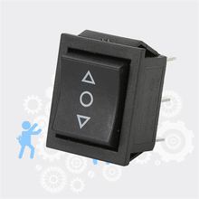10pcs NEW Self Reset Rocker Switch Power Switch button 3 Position 6 Feet Button Latching KCD4 15A 250VAC On-Off Switch Panel цена 2017