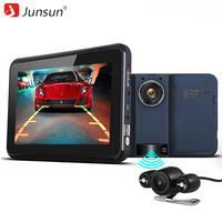 Junsun 7 Inch Car GPS Navigator With DVR 2 In 1 Android Radar Detector Navigation Russia